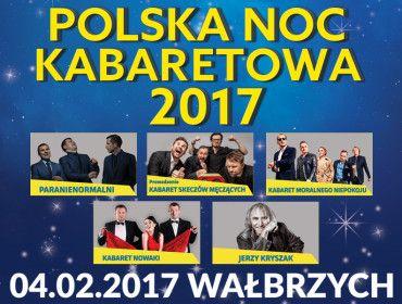 Fot. użyczone   olska Noc Kabaretowa 2017 to kolejna już edycja tego wyjątkowego show kabaretowego